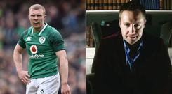 Keith Earls and Keith Barry