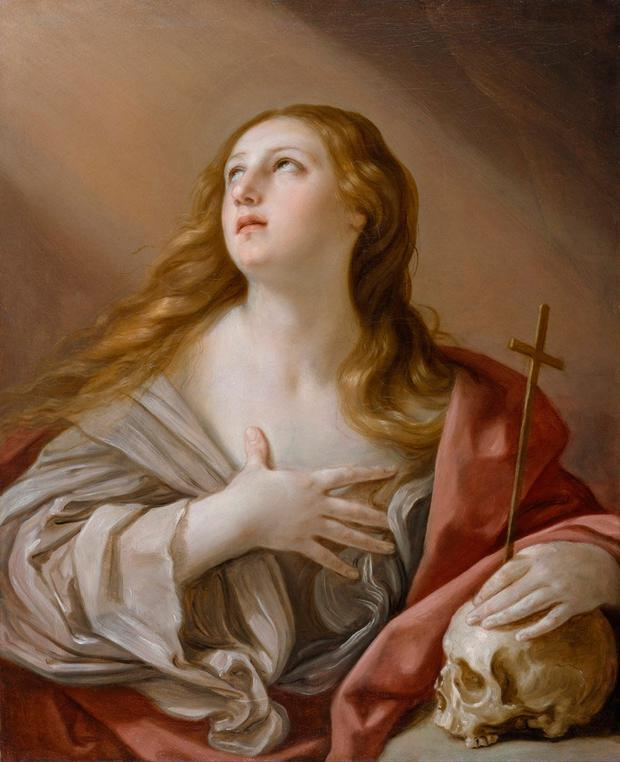 Misunderstood: Mary Magdalene, seen here in a 1635 painting by Guido Reni, was airbrushed out of the picture from the beginnings of Christianity