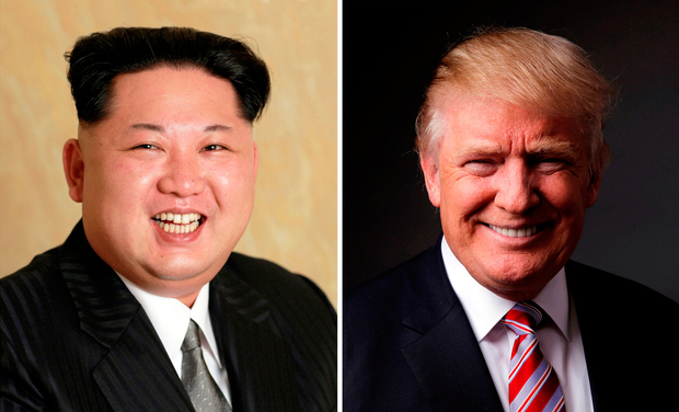 Kim Jong Un and Donald Trump. Photo: Reuters