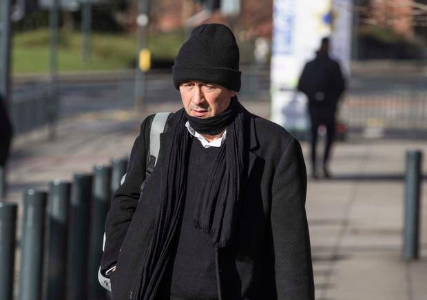 Former RTE producer Kieran Creaven appears at Leeds Crown Court