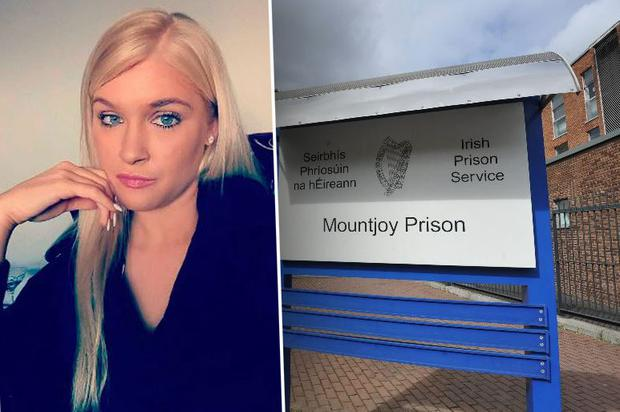 Law student Amy Daly was arrested, detained at Tullamore Garda Station for six hours and then brought to Mountjoy Prison in a caged van