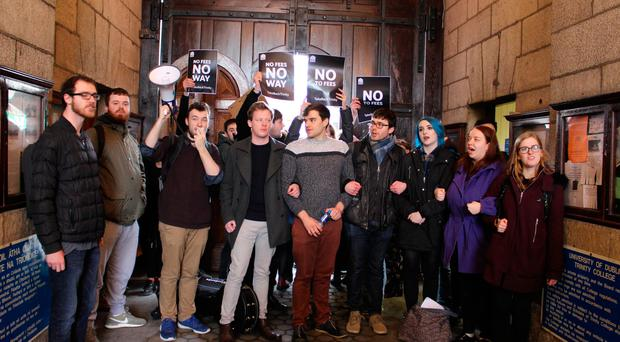 'Enough is enough' - Trinity students block access to Book of Kells in exam fees protest