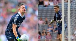 Bryan Murphy (right) and Stephen Cluxton (left).