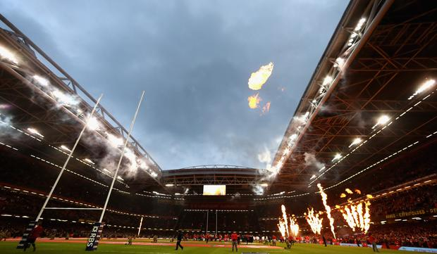 The Principality Stadium in Cardiff. Photo: Getty