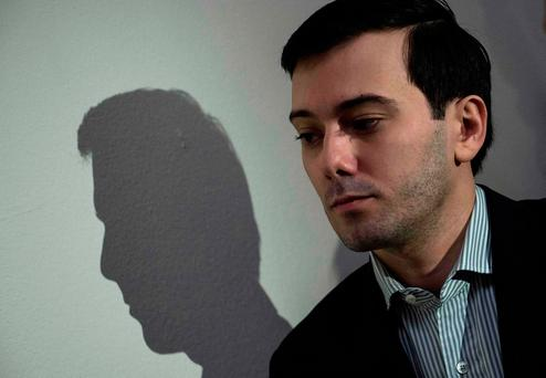 Shkreli, the former pharmaceuticals executive who became known as Pharma Bro, was sentenced on March 9, 2018, to seven years prison on charges of defrauding investors. Photo: Getty Images