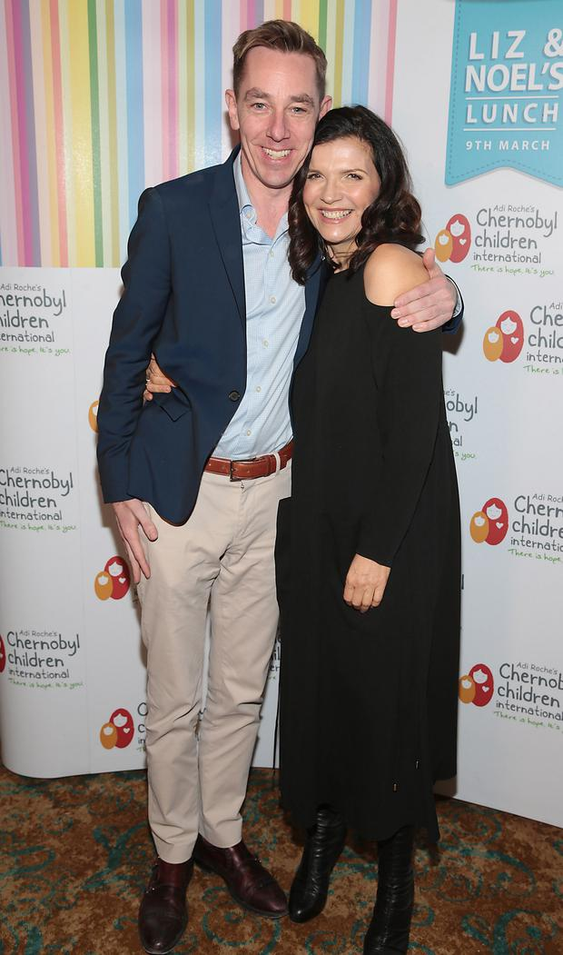 Ryan Tubridy and Ali Hewson. Photo: Brian McEvoy