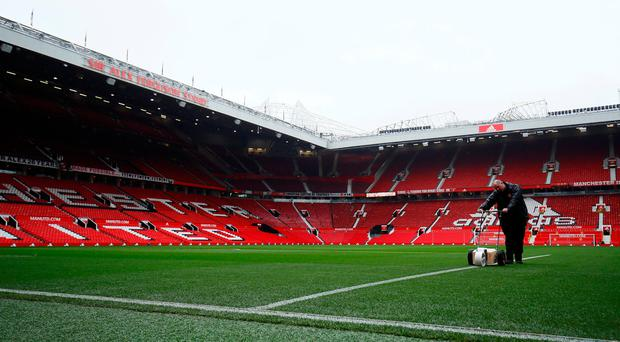 Manchester United pair miss training session with France