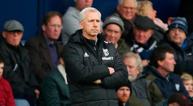 West Bromwich Albion manager Alan Pardew