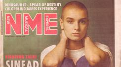 Sinead O'Connor's cover from October 1988 which Barry Egan wrote
