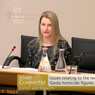 3Civilian officers Lois West and Laura Galligan give evidence to the Oireachtas Committee