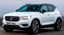 REAL INVESTMENT: Sadly, the new Volvo XC40 is out of Campbell's price range