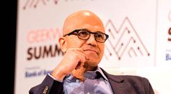 Microsoft chief executive Satya Nadella Photo: Bloomberg