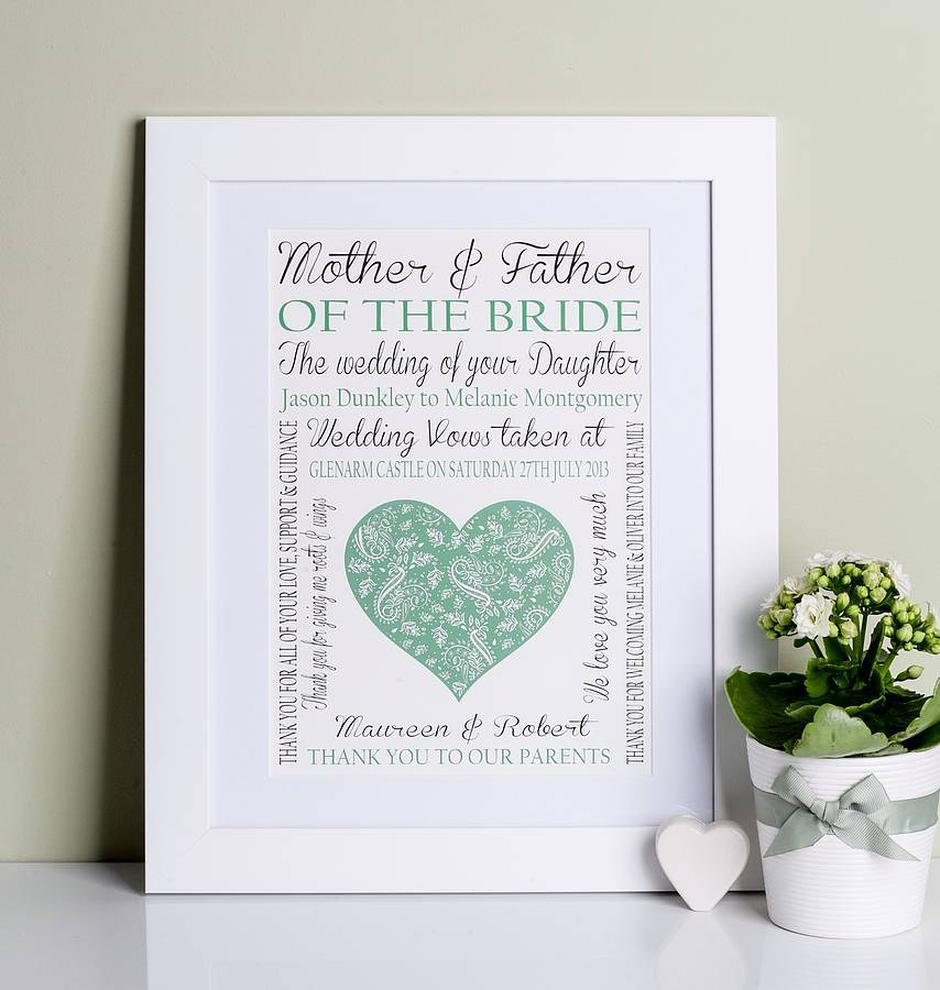 mother of the bride gift ideas from the irish bride and groom
