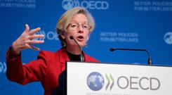 Catherine Mann, chief economist of the OECD