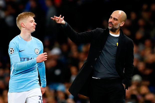 Guardiola indicated that the Spain international would be allowed to miss City's training break in Abu Dhabi, which follows the match at Stoke, in order to return to Valencia. Photo: Reuters/Jason Cairnduff