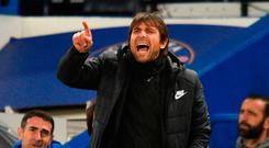 Conte: Eyeing Barca upset. Photo: Getty Images