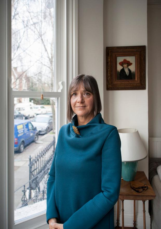 'That's the thing about cancer. It's sneaky. There's no pain until it's too late' - Author Kate Figes is living with metastatic breast cancer. Photo: News Licensing