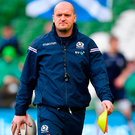 On Saturday, it very much felt like master versus apprentice as Gregor Townsend pitted his wits against the man for whom he has so much admiration. Photo by Brendan Moran/Sportsfile