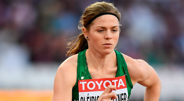 Siofra Cleirigh Buttner: New Irish indoor 800m record.