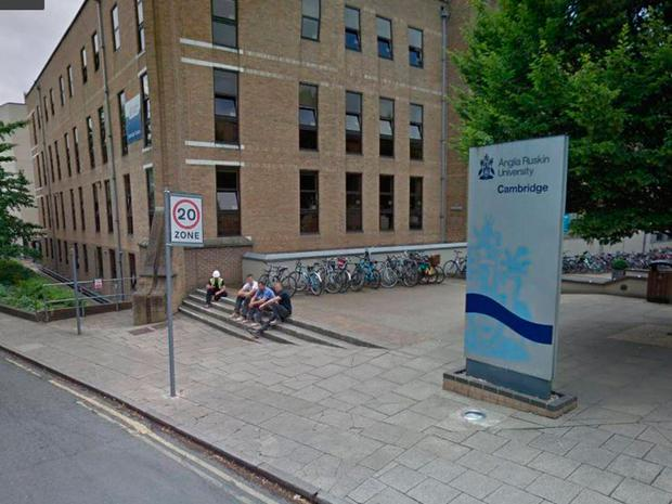 Pok Wong graduated from Anglia Ruskin University with a first-class degree (Photo: Google Maps)