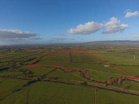 On the market 108ac farm with €11,800 in entitlements.