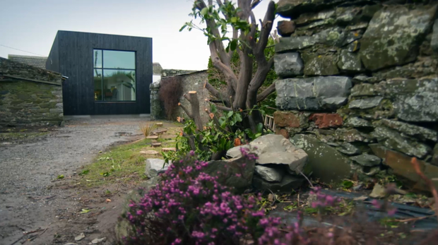 Dermot Bannon constructed a redesign that would ensure the family had a sea view.