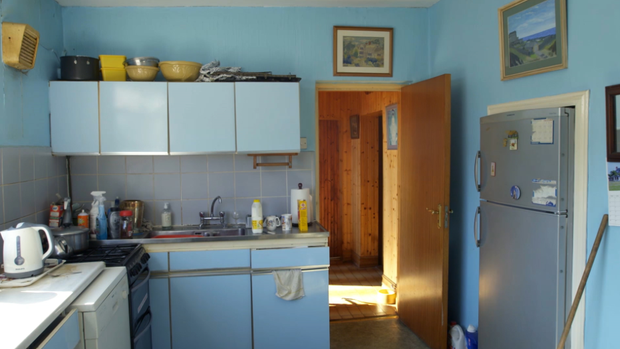 The old kitchen of the family home.