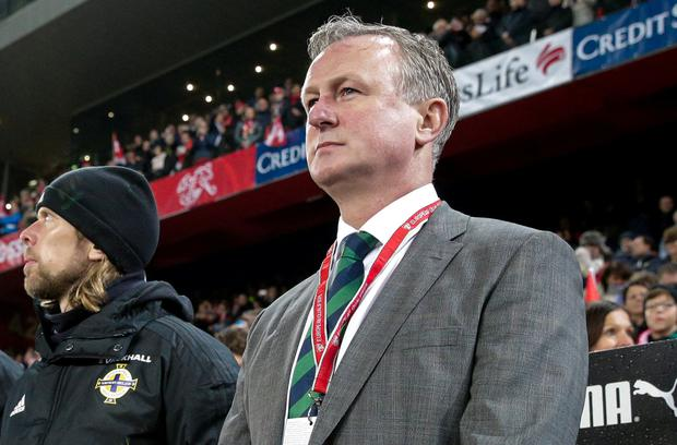 Northern Ireland manager Michael O'Neill. Photo: Roberto Bregani/Sportsfile