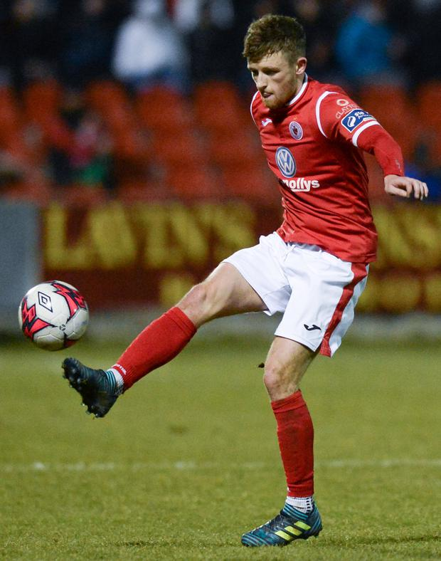 Sligo Rovers' Caolan McAleer. Photo: Oliver McVeigh/Sportsfile