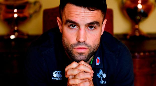 Conor Murray, pictured in Carton House yesterday, believes the nature of Saturday's title win will work to Ireland's advantage. Photo: Sam Barnes/Sportsfile