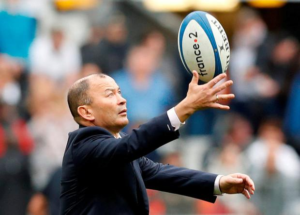 Eddie Jones has had plenty to juggle with England's injury problems. Photo: Gonzalo Fuenters/Reuters