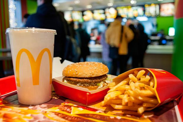 A McDonald's Big Mac contains just 2.3g of salt, which is around a third of the recommended healthy limit.