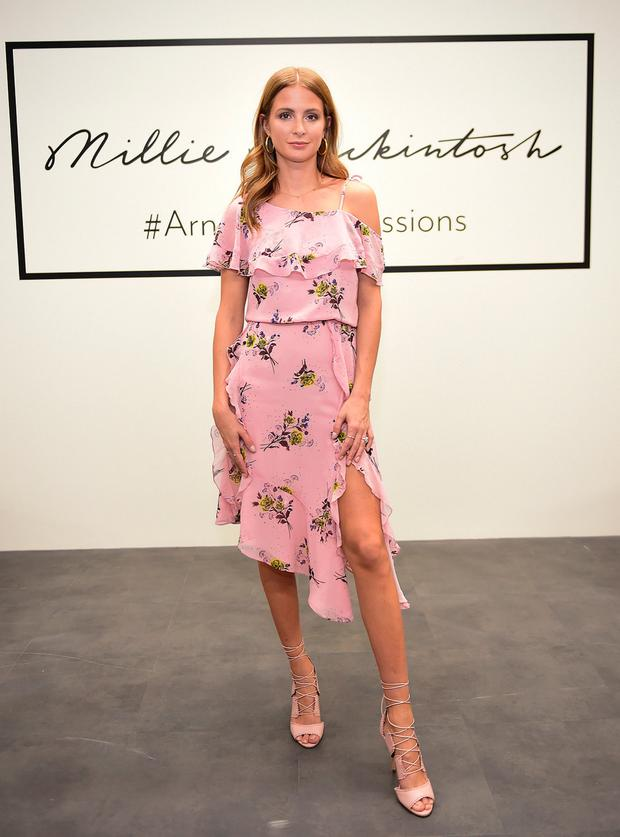 Millie Mackintosh in Arnotts. Picture: Michael Chester
