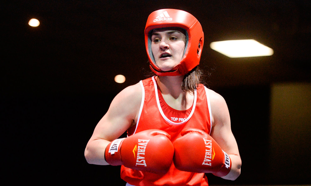 Ireland's Kellie Harrington