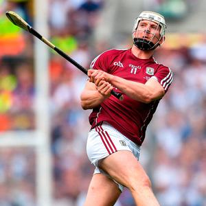 Joe Canning was voted Hurler of the Year in 2017 despite not scoring a goal. Photo by Ramsey Cardy/Sportsfile