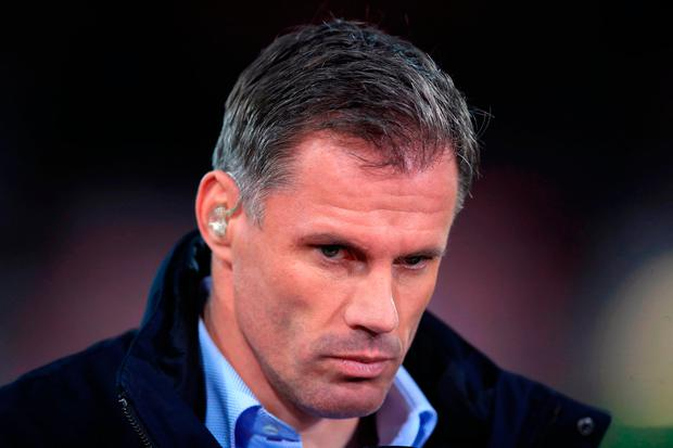 MADNESS: Sky Sports pundit Jamie Carragher. Photo credit: John Walton/PA Wire.