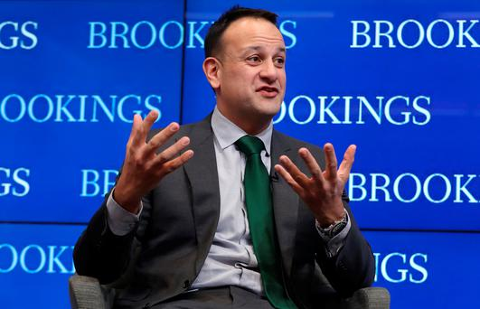 Irish Politicians are outraged with Varadkar's story of how he helped Trump