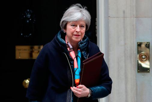 Britain's Prime Minister Theresa May. Picture: AFP/Getty