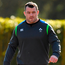 Cian Healy arrives for Ireland rugby squad training. Photo: Sportsfile