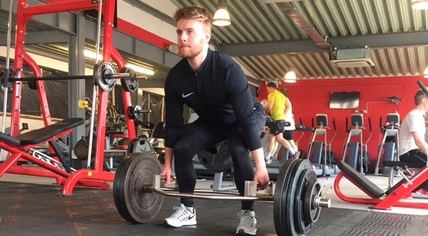 Conor Clifford has been working on his fitness at St Catherine's Community Sports Centre in Dublin