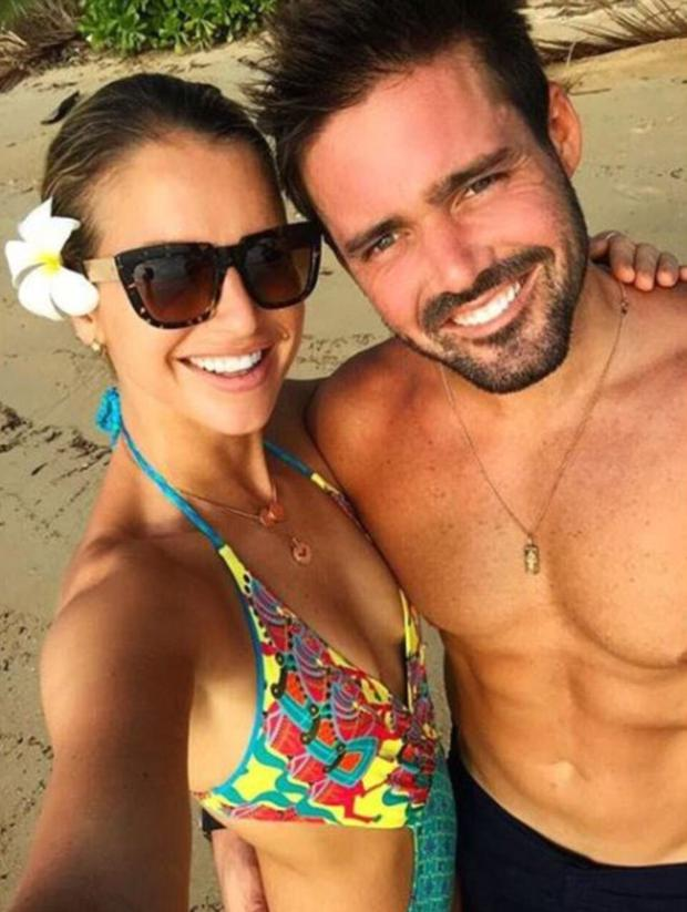 Vogue Williams and Spencer Matthews. Picture: Instagram