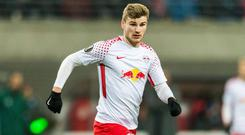 Timo Werner has 17 goals in 35 appearances this season