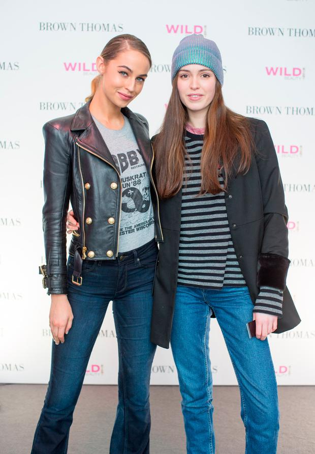 Thalia Heffernan & Louise Byrne at the Brown Thomas Style Masterclass. Picture: Anthony Woods