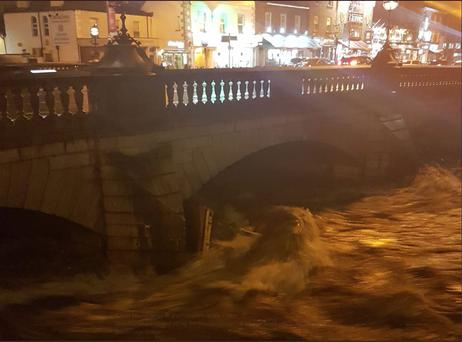 Several roads across country remain impassable following flooding yesterday