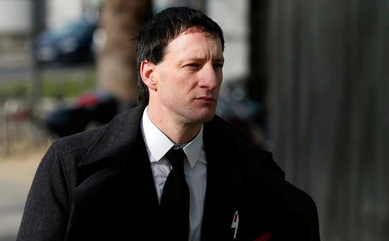 John Tighe (40), of Lavallyroe, Ballyhaunis, Co Mayo, outside the Central Criminal Court in Dublin. Photo: Collins Courts