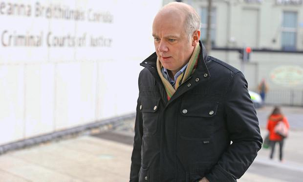 Former Anglo Irish CEO David Drumm arriving at the Circuit Criminal Court. Photo: Collins Courts