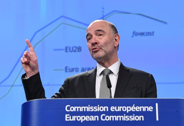 European Commissioner for Economic Affairs, Pierre Moscovici. Photo: AFP/Getty Images