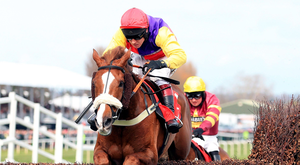 Native River will relish the soft ground and can finish in the Gold Cup places under Richard Johnson. Photo: PA