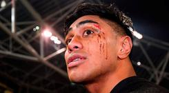 Fekitoa has been added to Toulon's European squad. Photo: Stephen McCarthy/Sportsfile