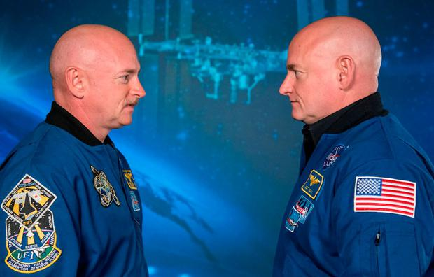 Nasa astronaut brothers Scott and Mark Kelly